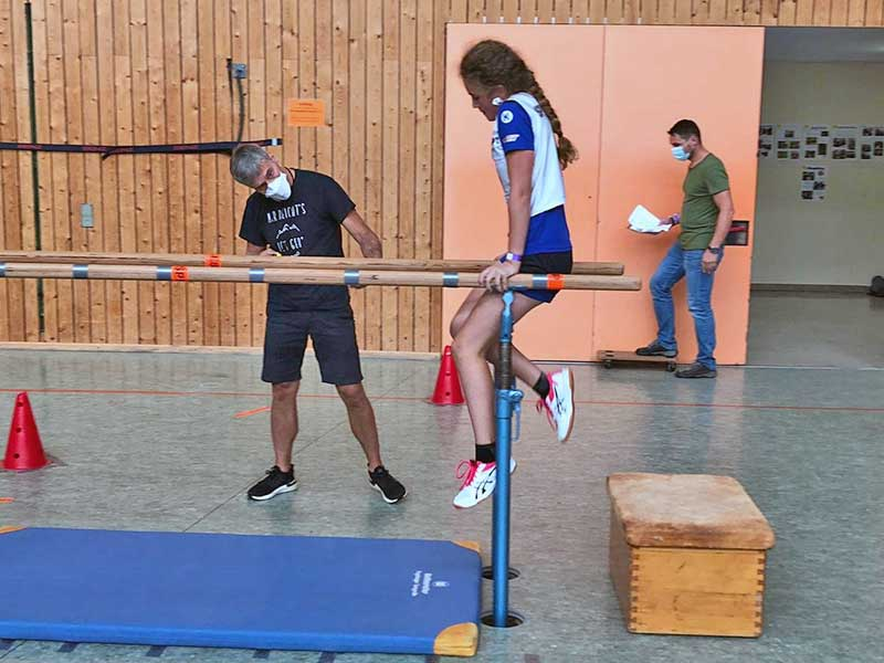Athletikwettkampf der Münchner Skiclubs