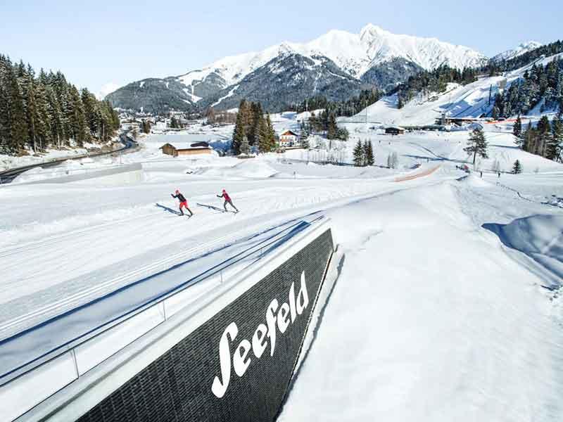 Seefeld Tirol Langlauf