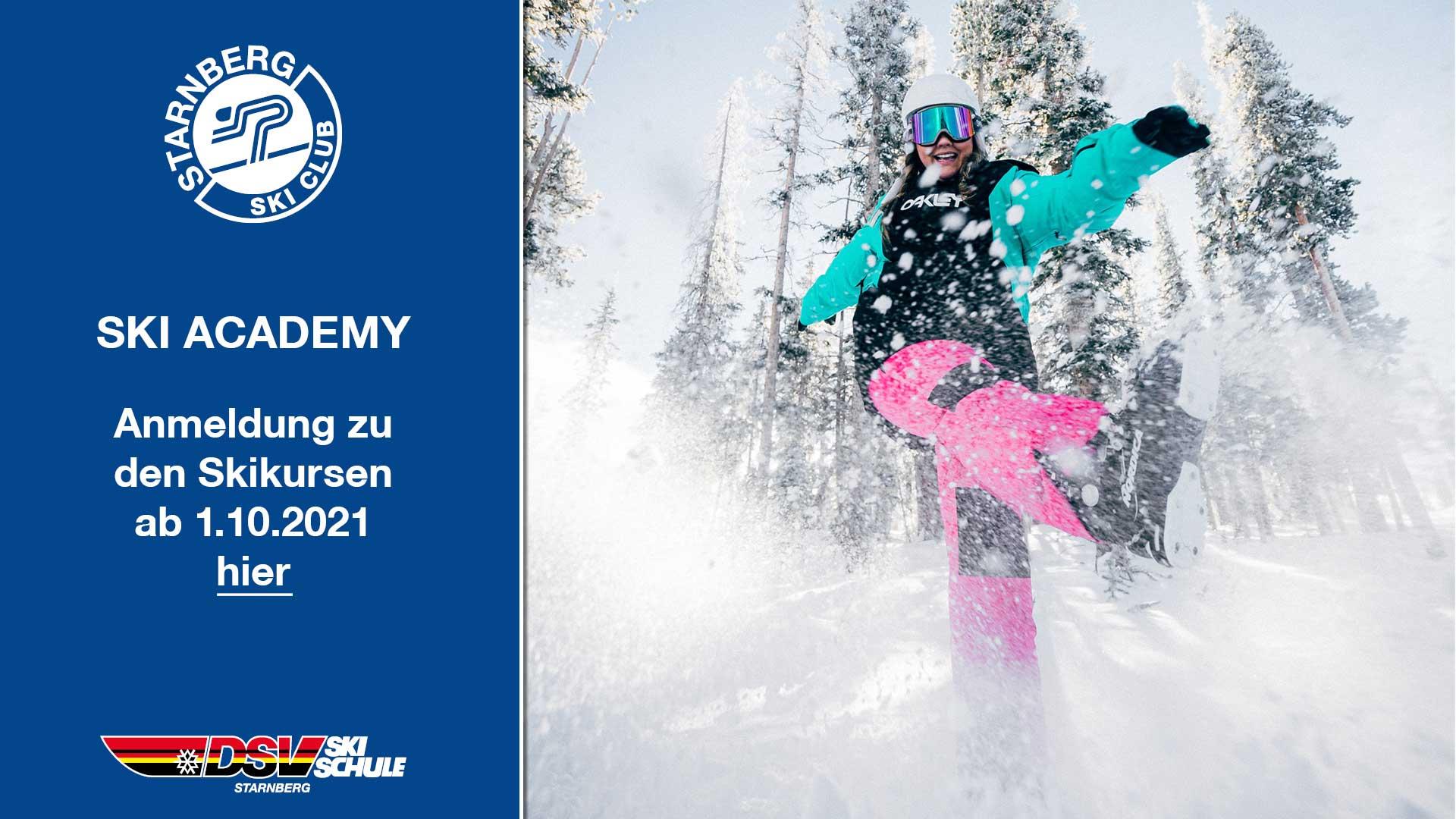 Ski Academy Anmeldung